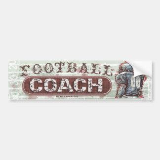 Football Coach Bumpersticker Bumper Sticker