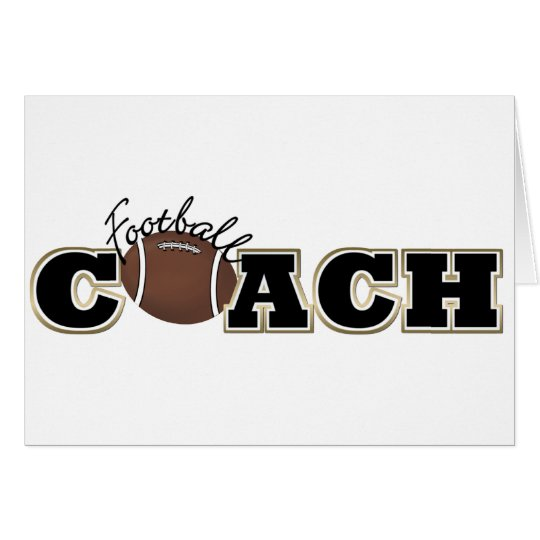 Football Coach Card