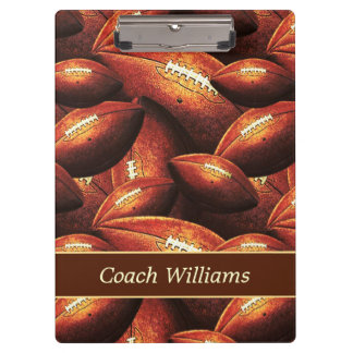 Football Coach Clipboard