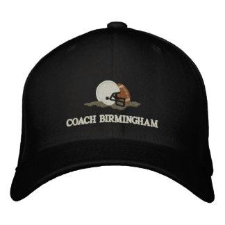 Football Coach Personalized Custom Embroidered Baseball Cap