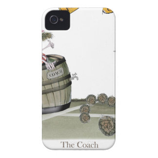 football coach red white stripes iPhone 4 Case-Mate case