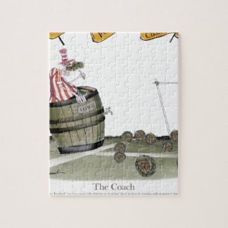 football coach red white stripes jigsaw puzzle