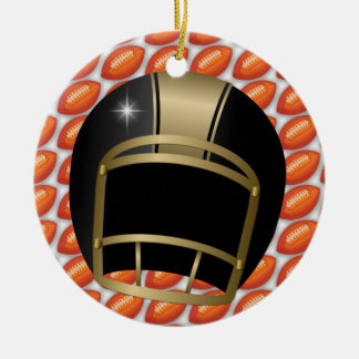Football Coach - SRF Christmas Ornament