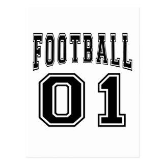 Football Crazy 01 Birthday Designs Postcard