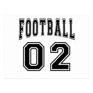 Football Crazy 02 Birthday Designs Post Card