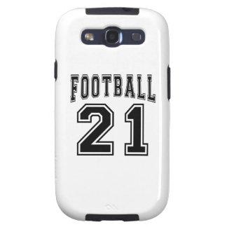 Football Crazy 21 Birthday Designs Samsung Galaxy SIII Cases
