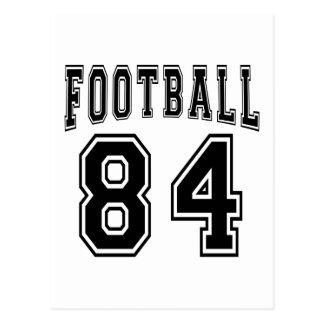 Football Crazy 84 Birthday Designs Post Card