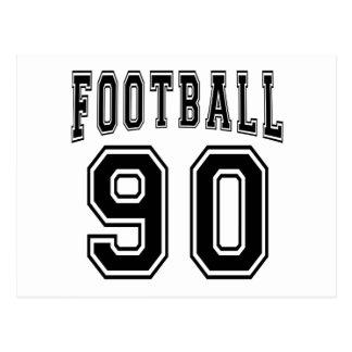 Football Crazy 90 Birthday Designs Postcards