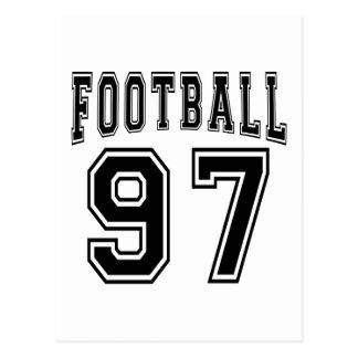 Football Crazy 97 Birthday Designs Postcards