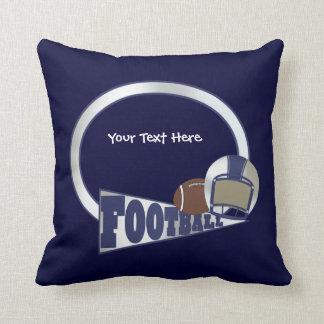 Football (customizable) cushion
