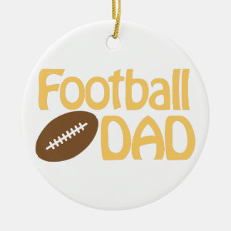 Football Dad Christmas Ornament