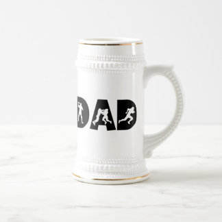 Football Dad Father's Day Beer Steins