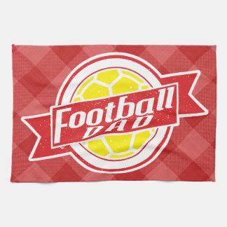 Football Dad Tea Towel