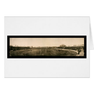 Football Des Moines Photo 1908 Greeting Card