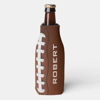 Football Design Bottle Cooler