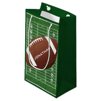 Football Design Gift Bag