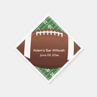 Football Design Paper Napkins