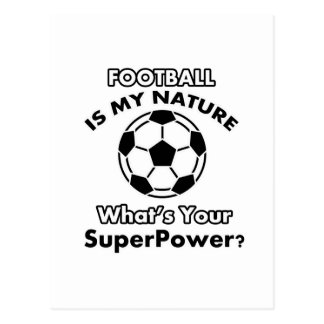 football design postcard