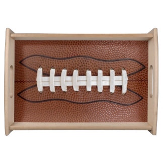 Football Design Sports Fan Big Game Party Supplies Serving Trays
