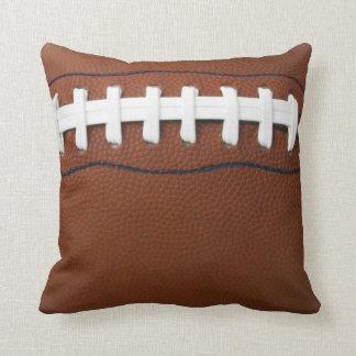 Football Design Throw Pillow
