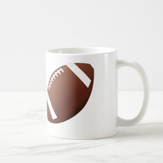 Football Design - White Coffee Mug