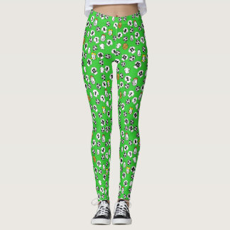 Football Design with Shirts in White Leggings