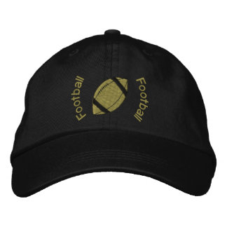 Football Embroidered Hat