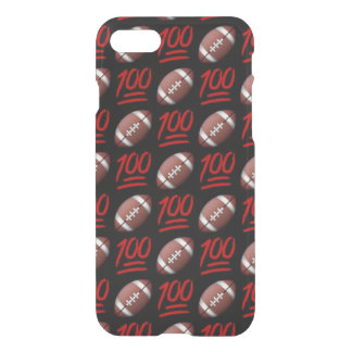 Football Emoji iPhone 7 Clearly™ Case
