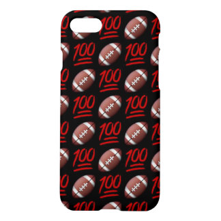 Football Emoji iPhone 7 Matte Case