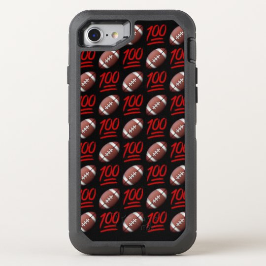 Football Emoji iPhone 8/7 Otterbox Case