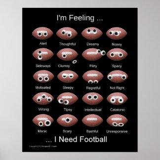 Football Emotion Poster