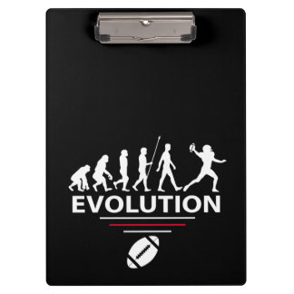 Football evolution clipboard