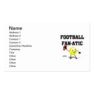 Football Fan-atic T-shirts and Gifts Pack Of Standard Business Cards