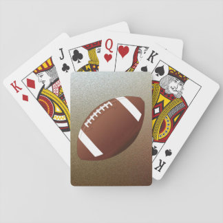 Football Fan Playing Cards