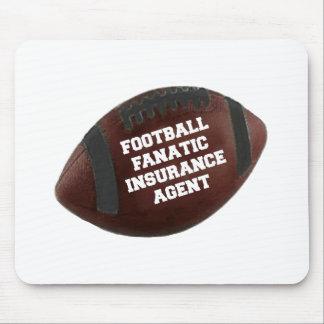 Football Fanatic Insurance Agent Mouse Mat