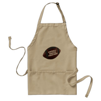 Football Fanatic Podiatrist Standard Apron