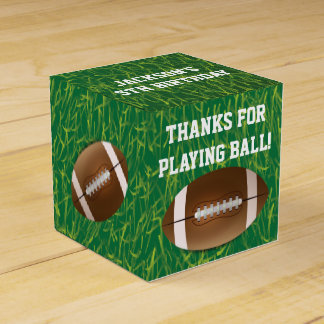 Football Favor Boxes for Birthday Party Favour Box