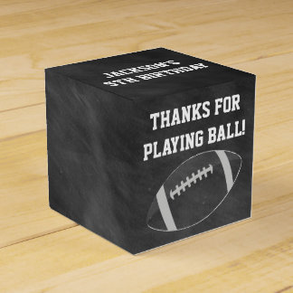 Football Favor Boxes for Birthday Party Party Favour Boxes