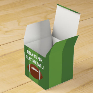 Football Favor Boxes for Birthday Party Wedding Favour Boxes