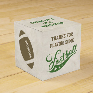 Football Favour Boxes for Birthday Party