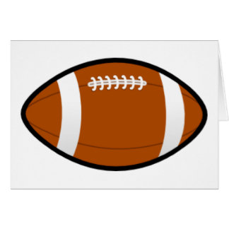 Football Fever! Greeting Card