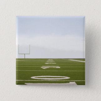 Football Field 15 Cm Square Badge