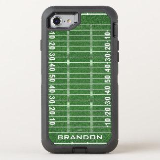 Football Field Design Otter Box OtterBox Defender iPhone 7 Case