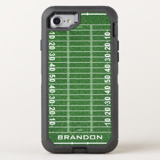 Football Field Design Otter Box OtterBox Defender iPhone 8/7 Case