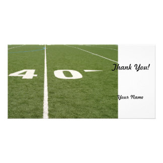 Football Field Forty Photo Cards