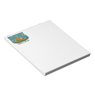 Football Game Day Notepad