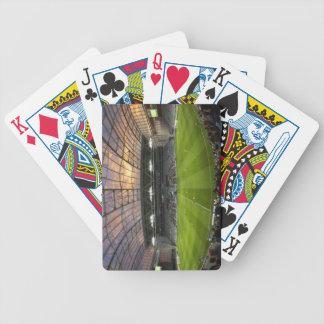 Football game, Forsyth Barr Stadium, Dunedin Bicycle Playing Cards