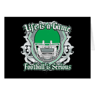 Football Game Green Cards