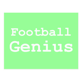 Football Genius Gifts Postcard
