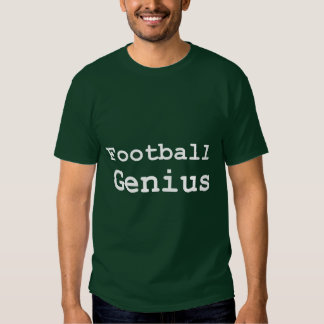 Football Genius Gifts T-shirt